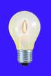 Leinwandbild Motiv candle light stromspar glühlampe