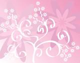 spring background poster