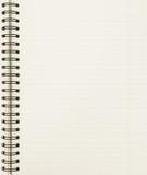 blank notebook sheet poster