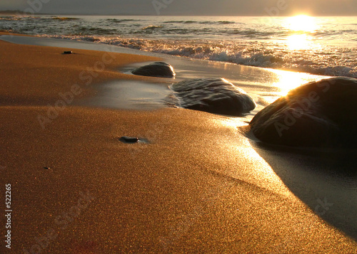 Leinwanddruck Bild the beach