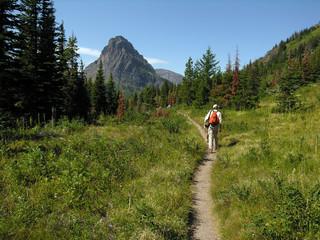 trail hiker.