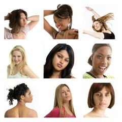 multi racial group of women