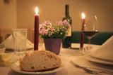 romantic dinner poster