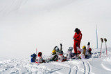 cours ski enfants poster