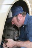 skilled auto mechanic poster