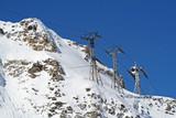 station de ski poster