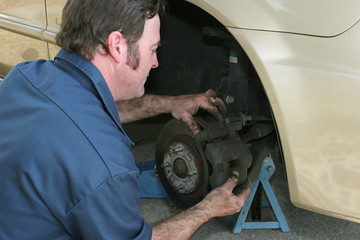 disc brake adjustment