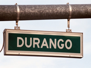 streetsign: durango