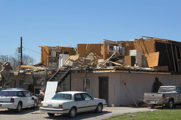 tornado damage ky 1