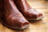 cowboy boots poster