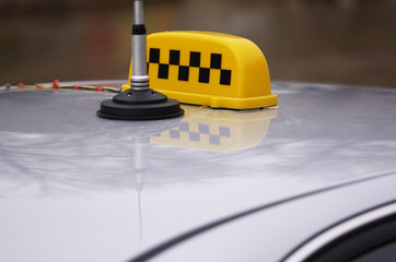 taxi top