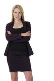confident business woman poster