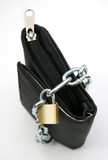 purse with padlock 1 poster