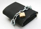 purse with padlock 2 - pickpocket poster