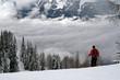 nuage montagne