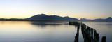 Fototapety le lac de puerto natales au chili