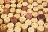 wine cork background poster