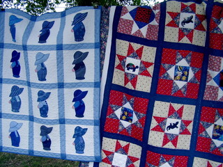 quilts for sale at national folk festival