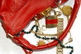 handbag and jewellery poster
