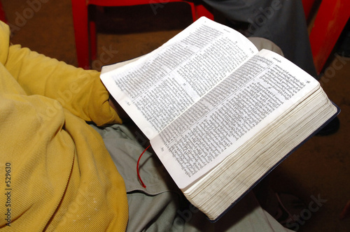 chin refugees in malaysia living in forest camp: bible holy book