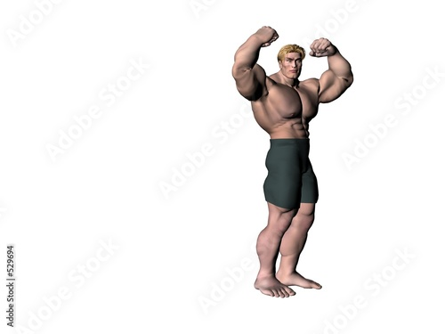 poster of bodybuilder 3