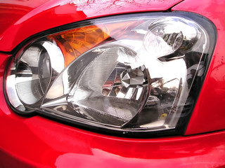 the headlight