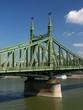 pillar of liberty bridge and danube