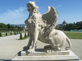 griffin statue in vienna