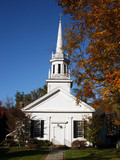 new england style church poster