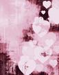 vintage grunge valentine frame