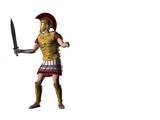 greek warrior 16 poster