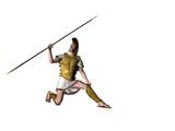 greek warrior 14 poster