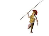 greek warrior 13 poster