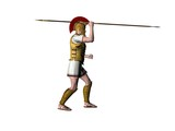 greek warrior 11 poster