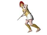 greek warrior 10 poster