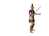 greek warrior 9 poster