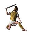 greek warrior 8 poster