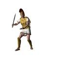 greek warrior 6 poster