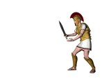 greek warrior 4 poster