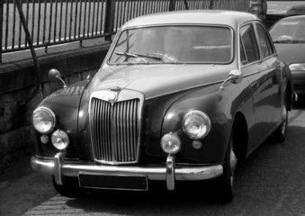 1950's british sports saloon
