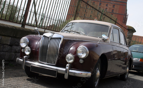 1950's british sport saloon
