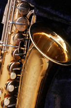 Saxofón vendimia