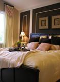 elegant bedroom poster