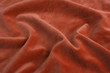 orange velvet fabric