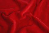 red velvet fabric poster