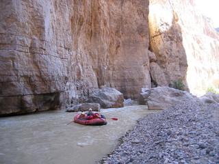 rafting sur le rio grande