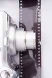 camera and film poster