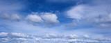 blue sky panorama poster