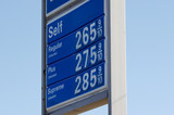 gas prices poster