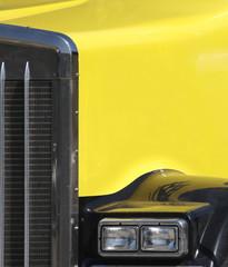 semi truck detail